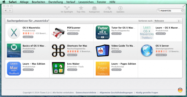 App Store Mavericks Download
