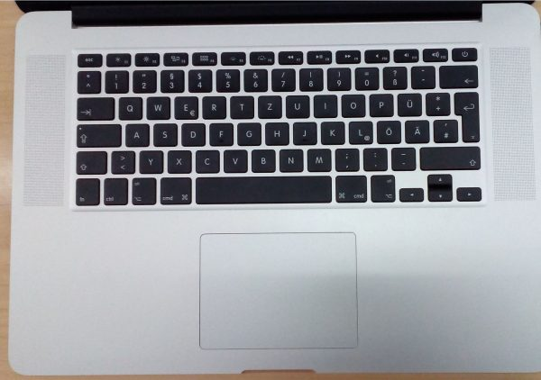 "MacBook Pro 15"" mit Retina Display - Tastatur"