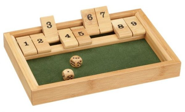 Shut-the-box, Klappenspiel
