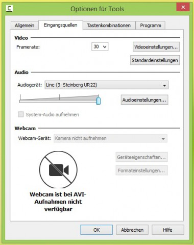 Camtasia-Recorder-Optionen-avi-no-webcam