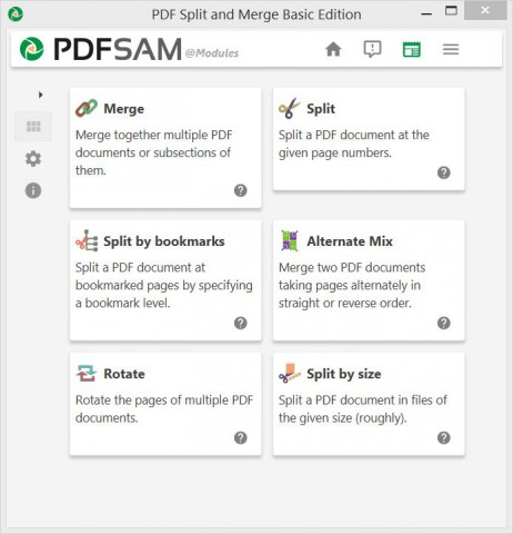 PDFsam Features