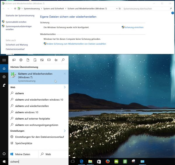 Windows 10 Systemabbild Image Wiederherstellen