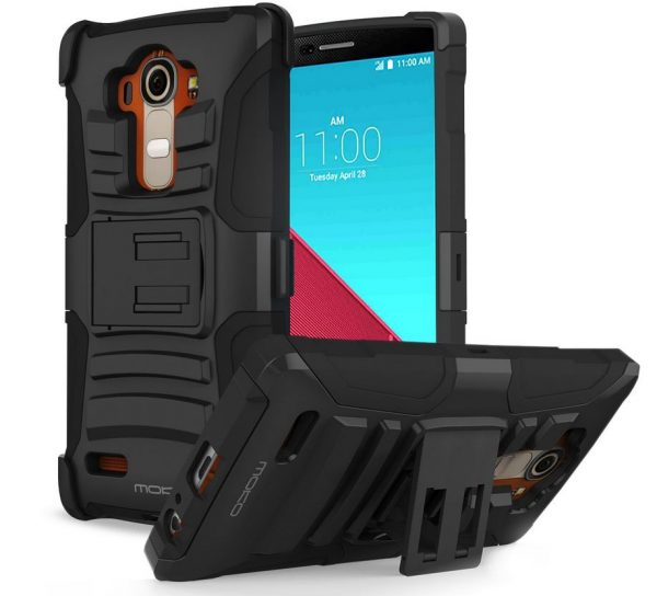 LG G4 Hülle MoKo Outdoor Dual Layer Armor Case