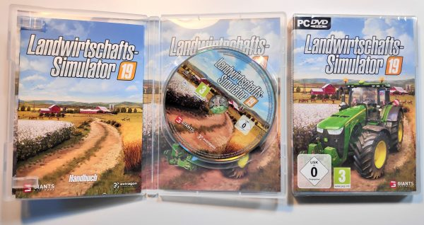Landwirtschafts-Simulator 2019 DVD Inlay